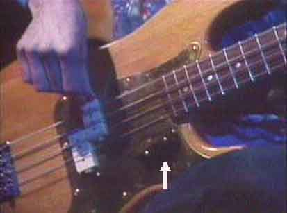 Natural 1 (the finger rest is in usual position, w/DiMarzio)